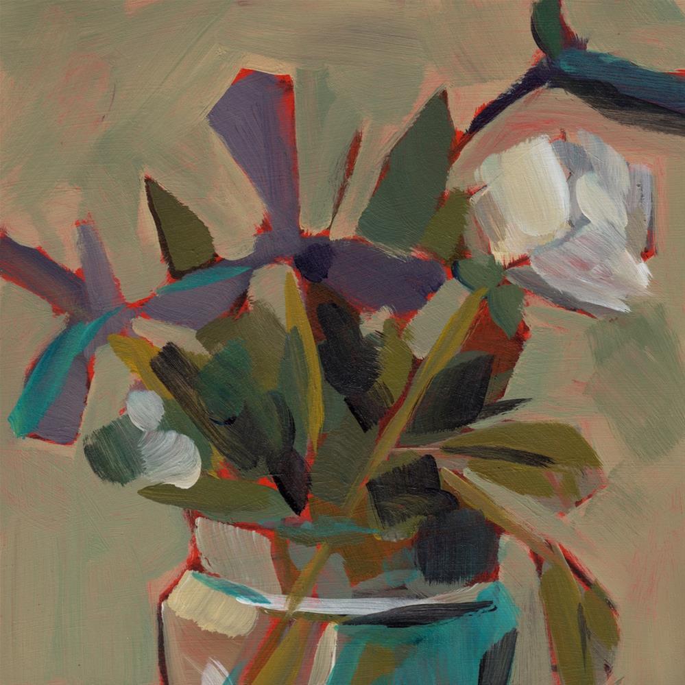"""0255: Amethyst and Jade"" original fine art by Brian Miller"