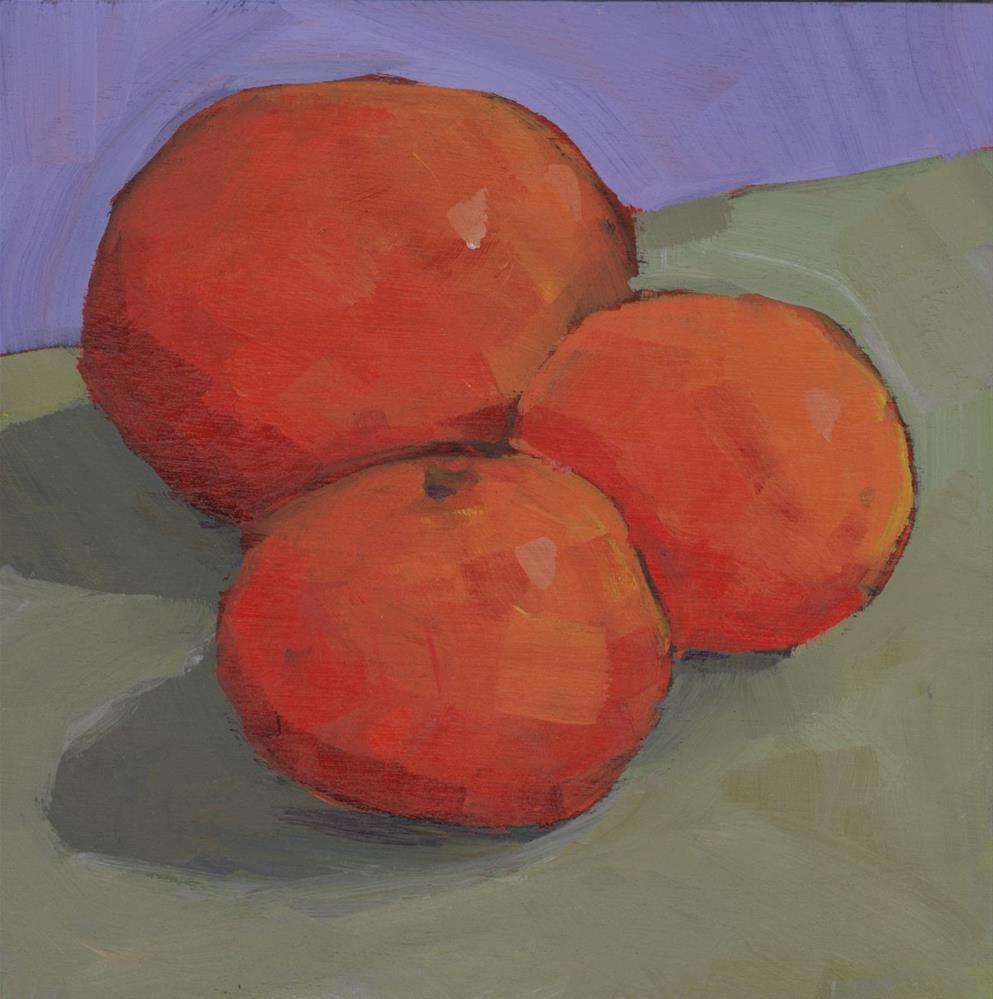 """""""0934: Three Oranges"""" original fine art by Brian Miller"""