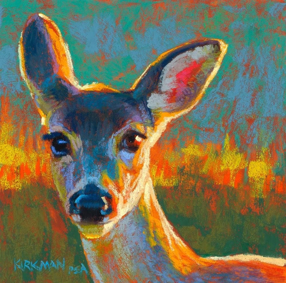 """Lavender (and the Victoria Workshop)"" original fine art by Rita Kirkman"