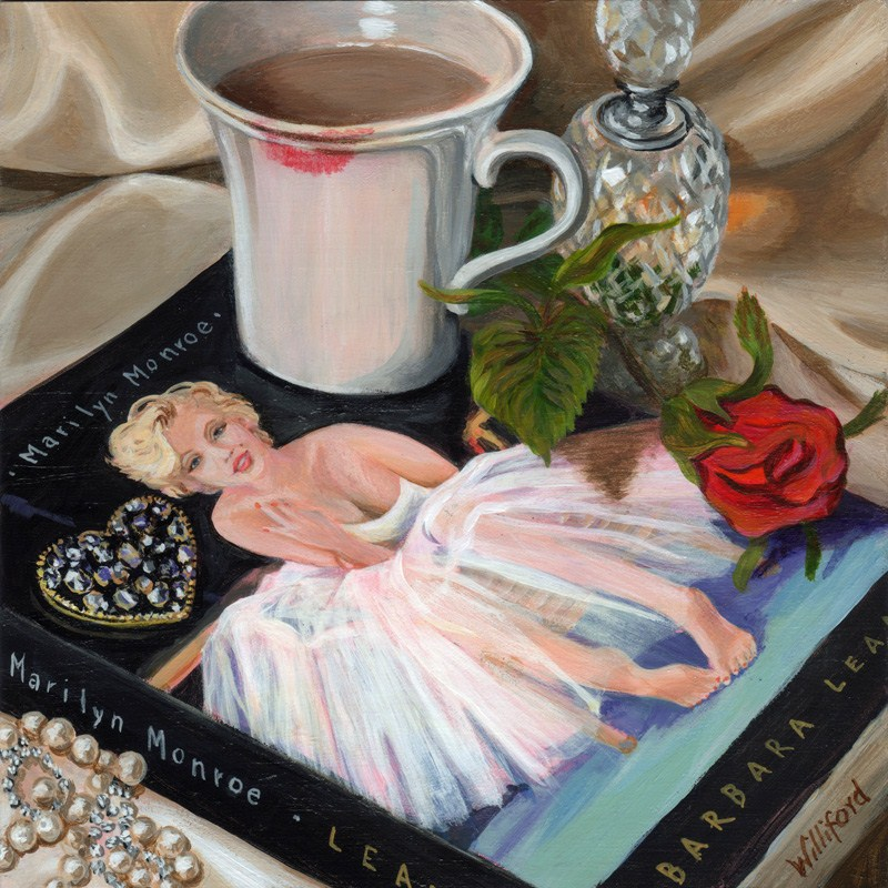 """Homage to Marilyn"" original fine art by Kathleen Williford"