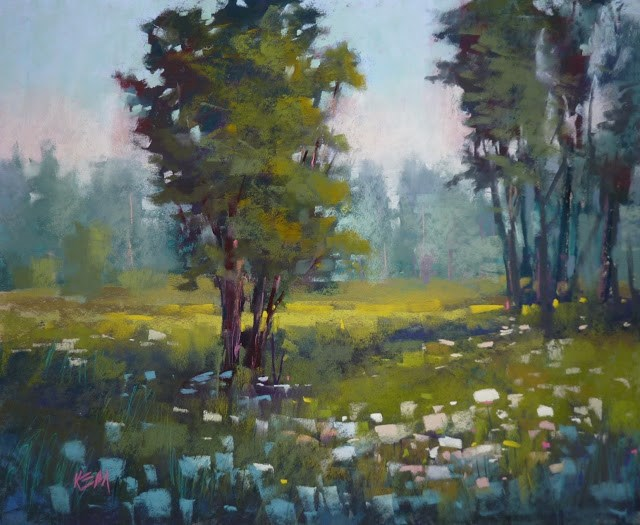 """A Important Tip for Creating Depth in a Landscape"" original fine art by Karen Margulis"
