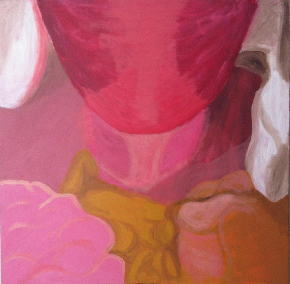 """""""Endometriosis II """" original fine art by Madeleine Hoffmeister"""