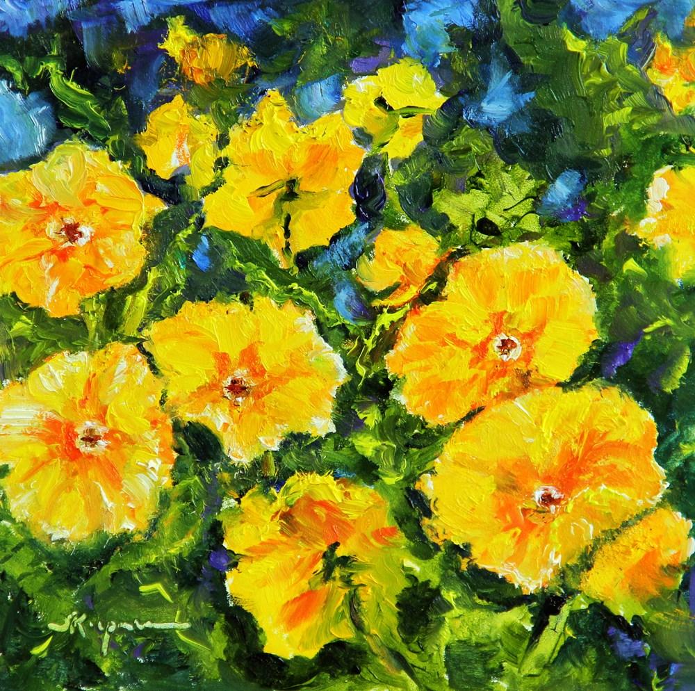 """""""Spring!"""" original fine art by Shelley Koopmann"""