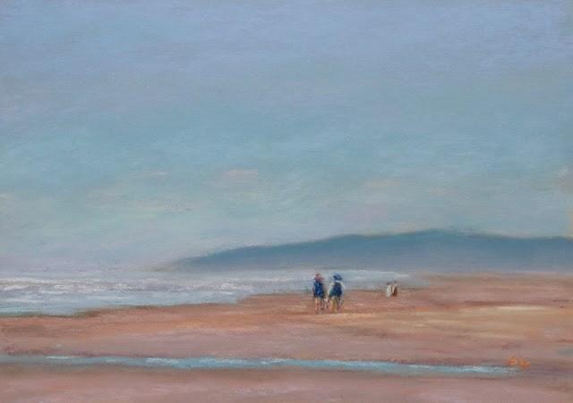 """Harmony"" original fine art by Sharon Lewis"