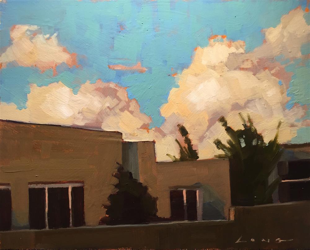 """Santa Fe"" original fine art by Chris Long"