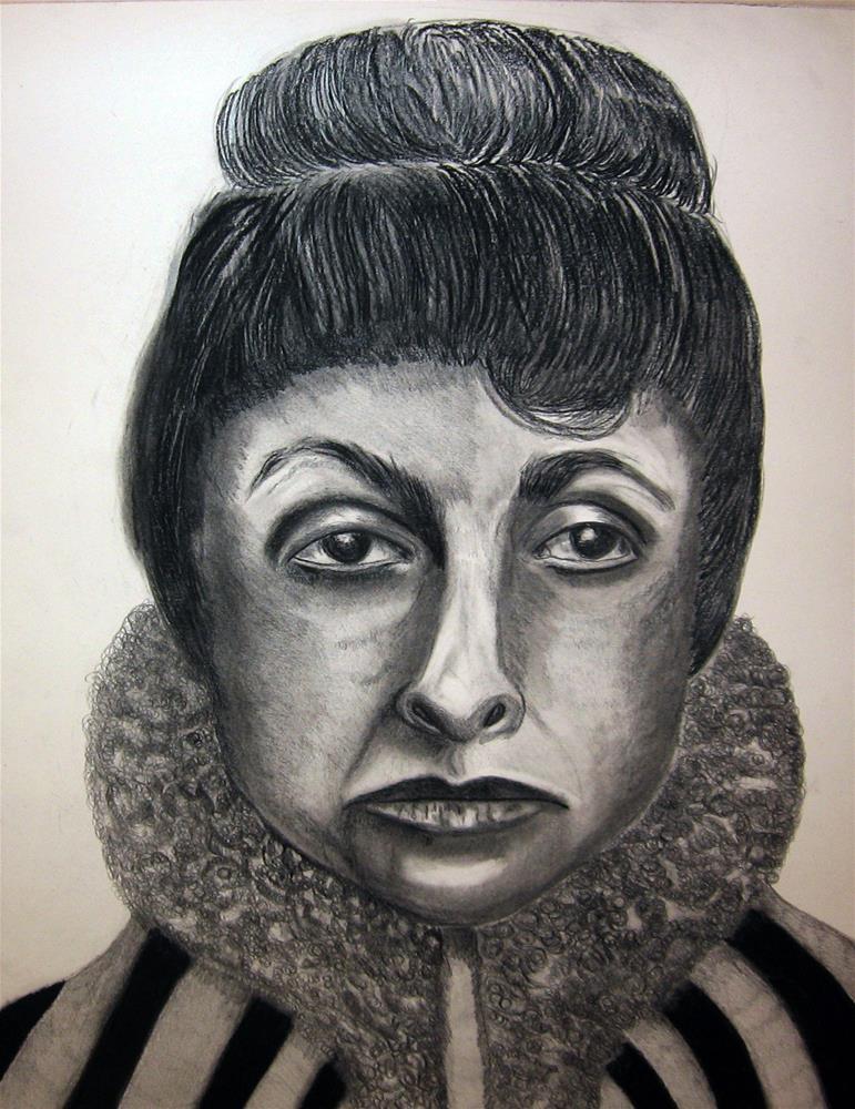 """O'Keeffe in Chicago"" original fine art by Terri Brown-Davidson"