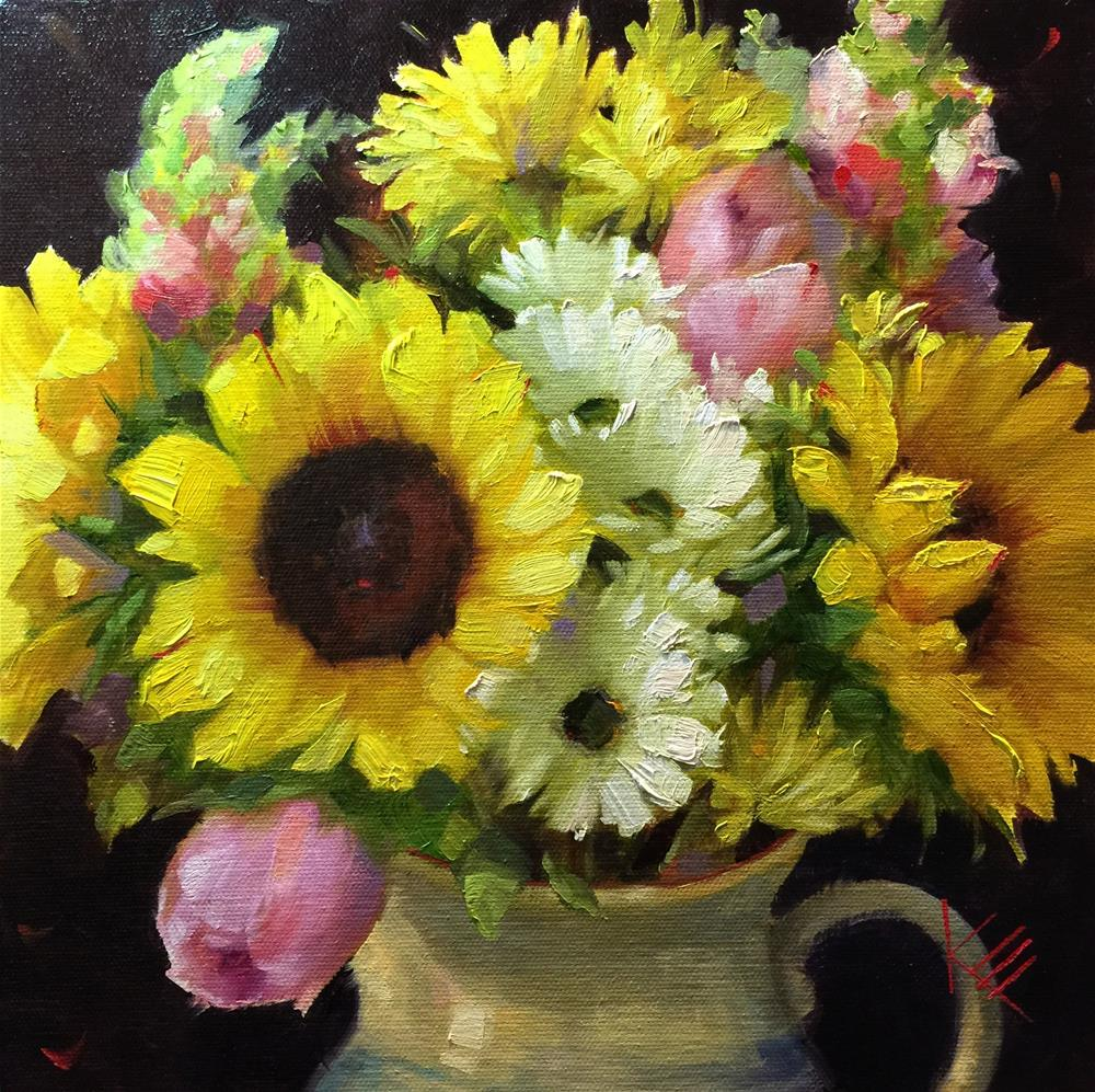 """Summertime Moment"" original fine art by Krista Eaton"