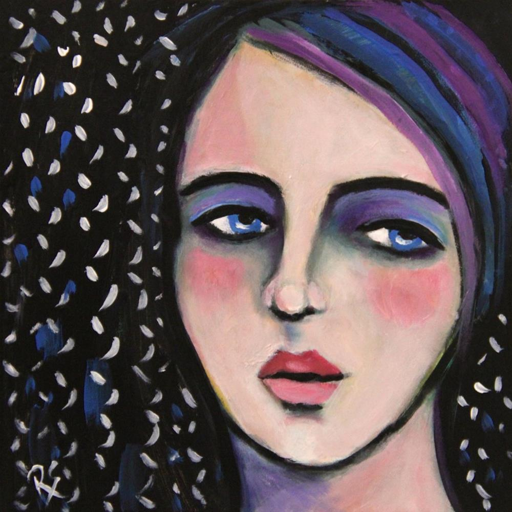 """Daria"" original fine art by Roberta Schmidt ArtcyLucy"