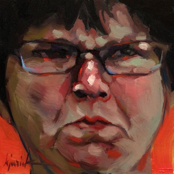 """Two More Hilton Head Gangers"" original fine art by Karin Jurick"