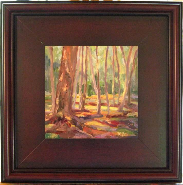 """""""Patches of Light"""" original fine art by Robie Benve"""