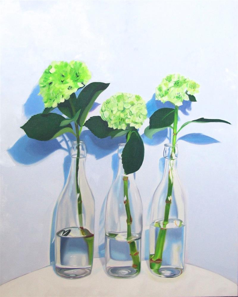 """Three's Company"" original fine art by Amy Hillenbrand"