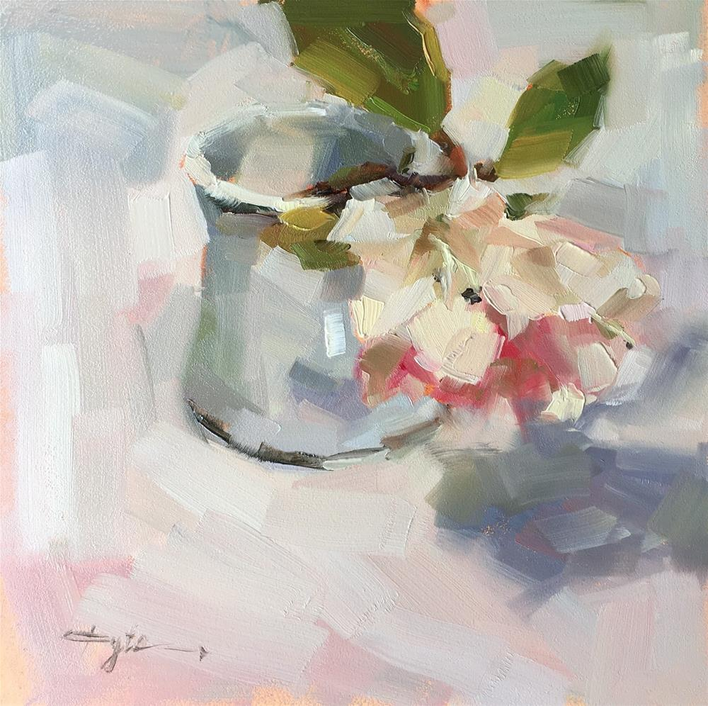 """Rhododendron"" original fine art by Katia Kyte"
