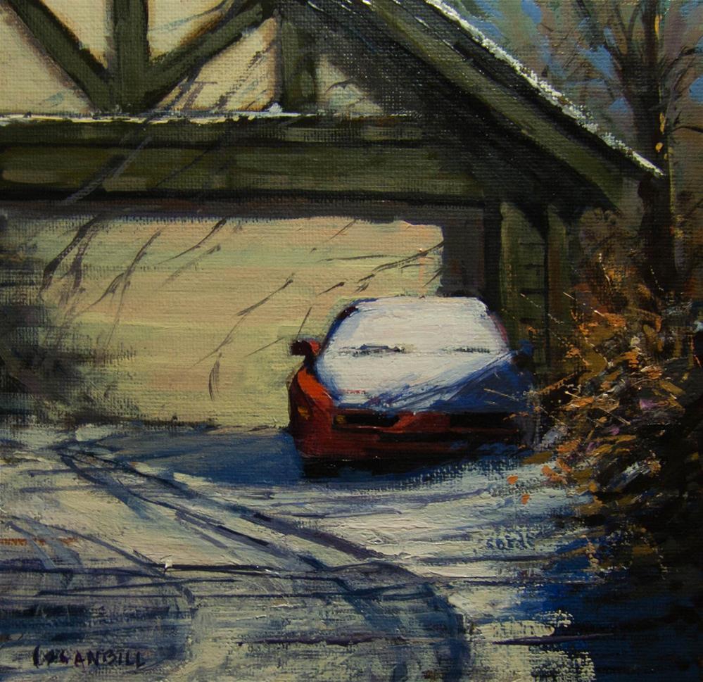 """Waiting for Spring"" original fine art by Joseph Loganbill"