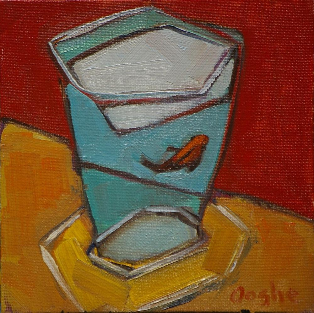 """One Fish"" original fine art by Angela Ooghe"