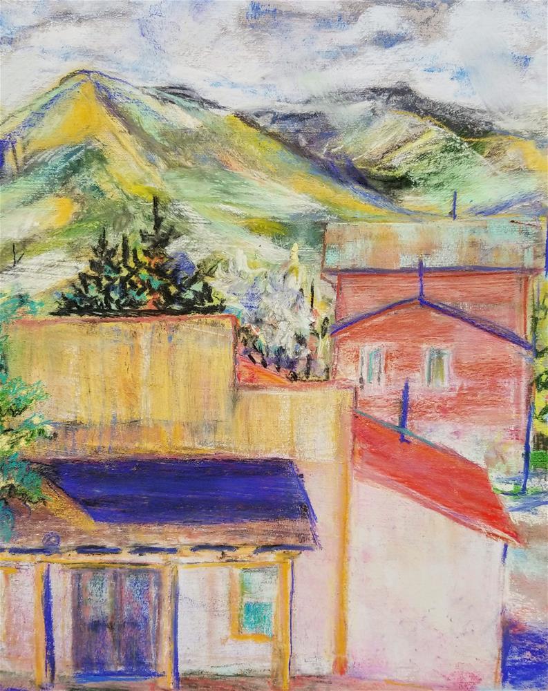 """""""Westcliffe, CO, Looking West"""" original fine art by Jean Krueger"""
