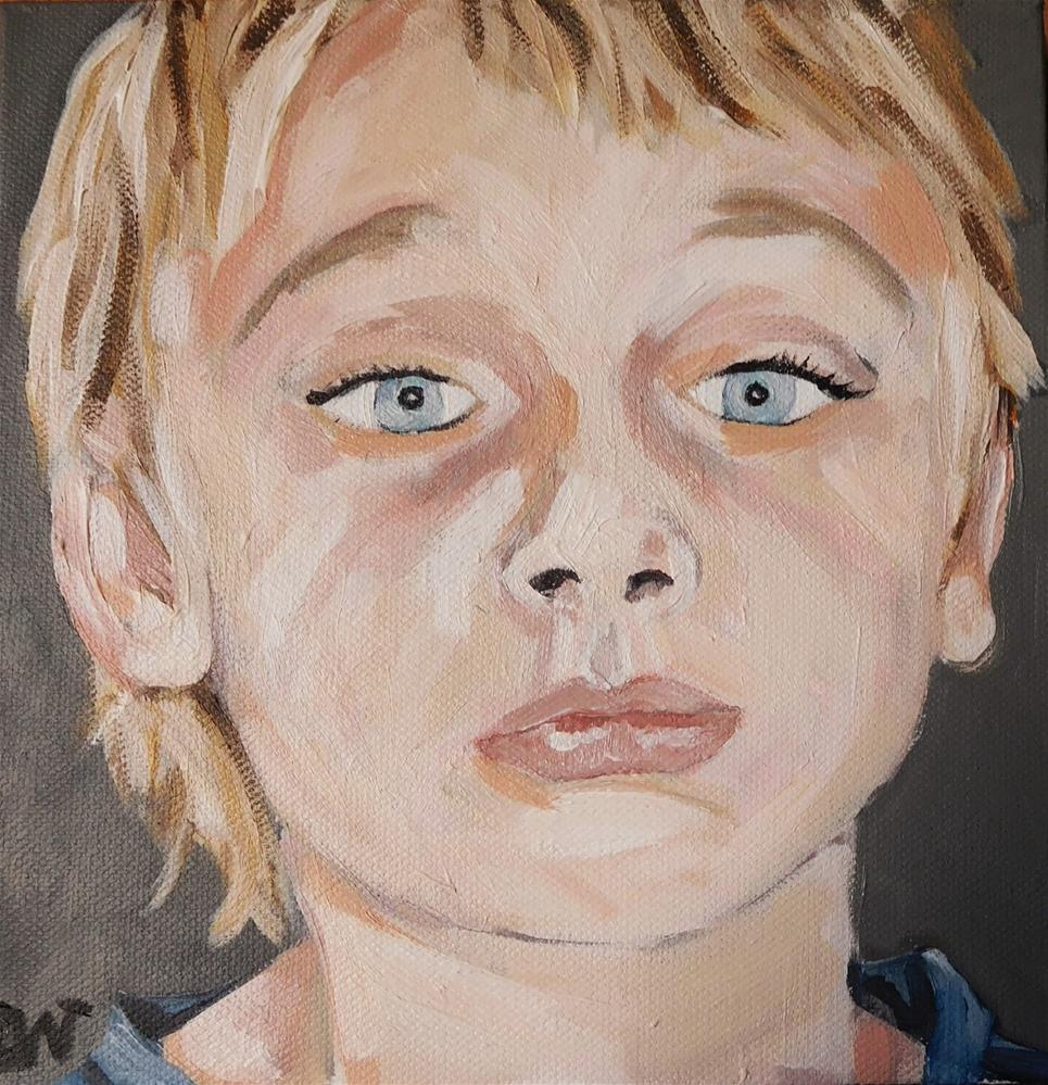 """George"" original fine art by Daryl West"