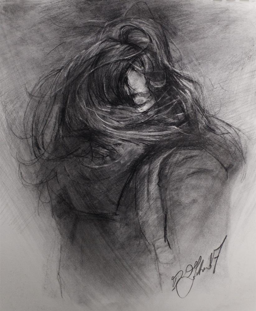 """Into the Cold № 9"" original fine art by Dimitriy Gritsenko"