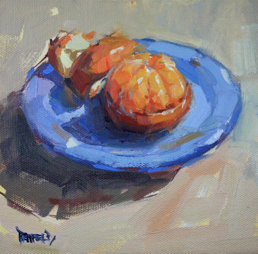 """Glow of Orange"" original fine art by Cathleen Rehfeld"