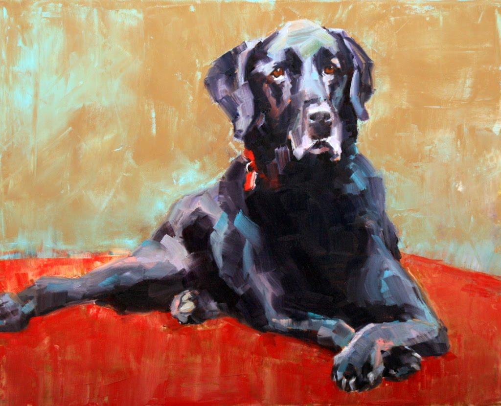"""Ash"" original fine art by Carol Carmichael"