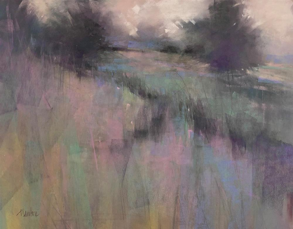 """Untitled (grasses)"" original fine art by Barbara Benedetti Newton"