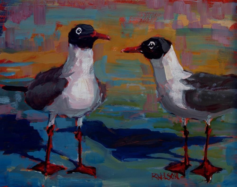 """Without Agenda"" original fine art by Rick Nilson"