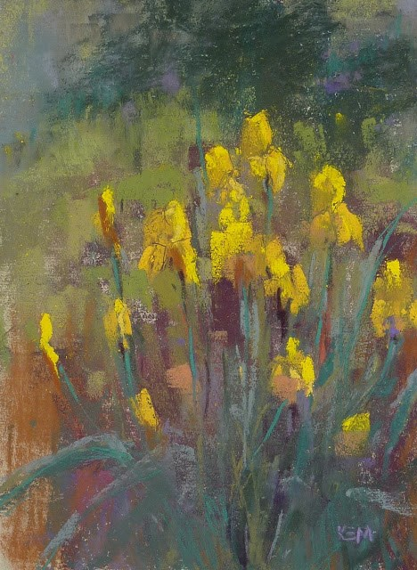 """Flower Painting Tips for May Day"" original fine art by Karen Margulis"