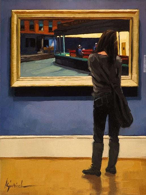 """""""Hopper"""" original fine art by Karin Jurick"""