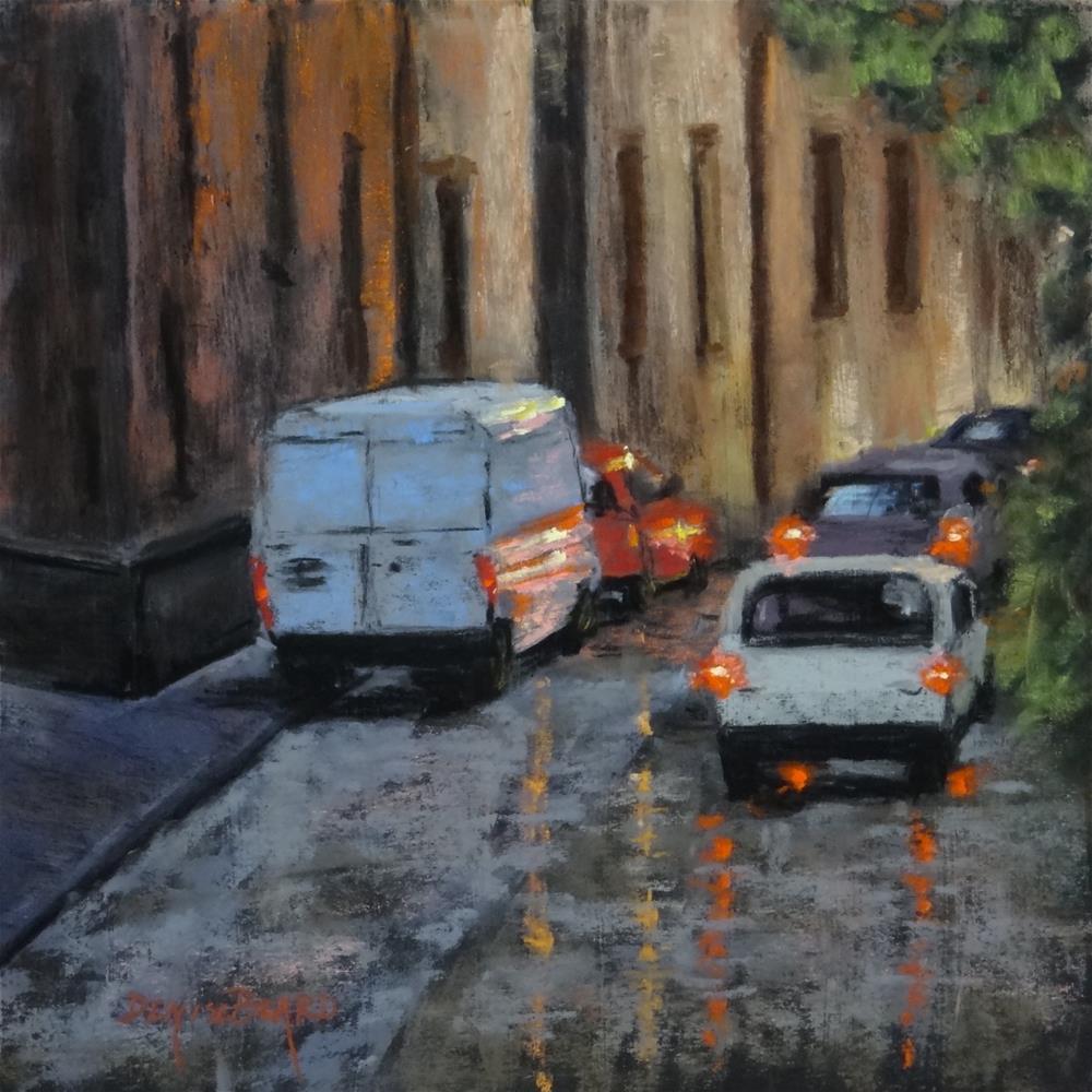 """Rainy Morning"" original fine art by Denise Beard"