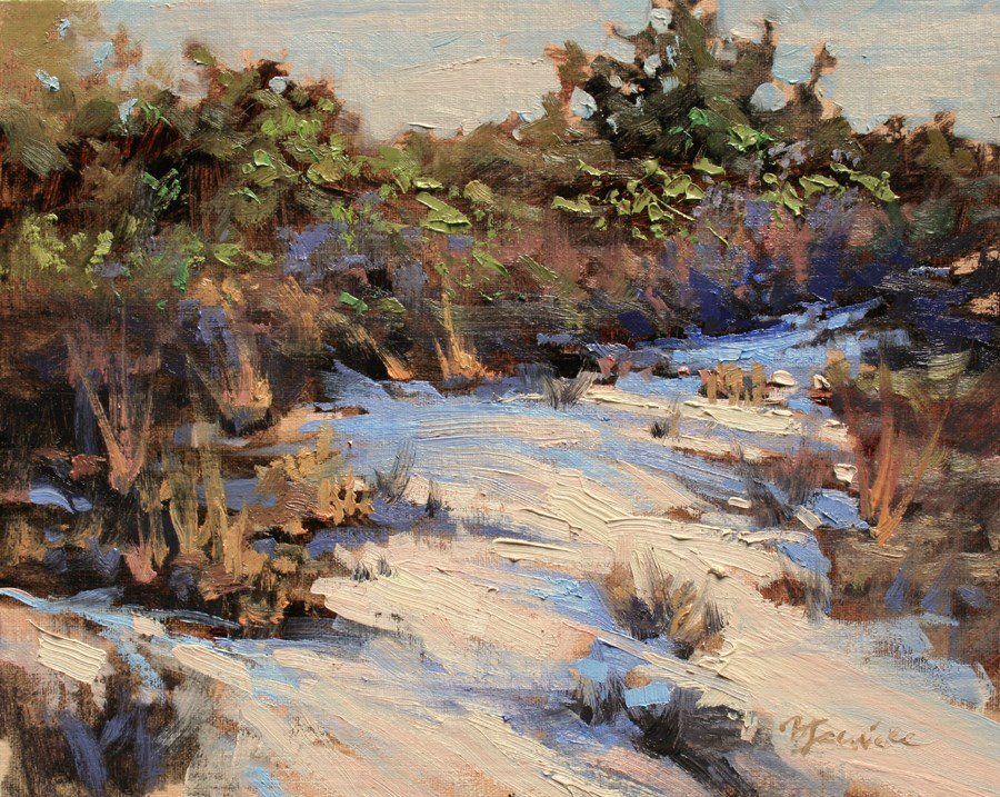 """""""Out in the Dunes"""" original fine art by Barbara Jaenicke"""