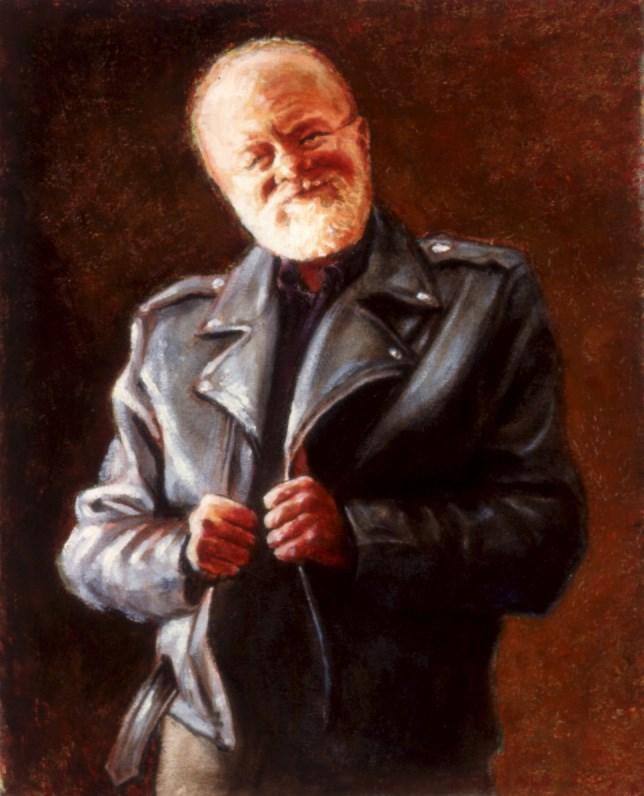"""""""Self Portrait - Aging in Place"""" original fine art by Joe Fitzgerald"""