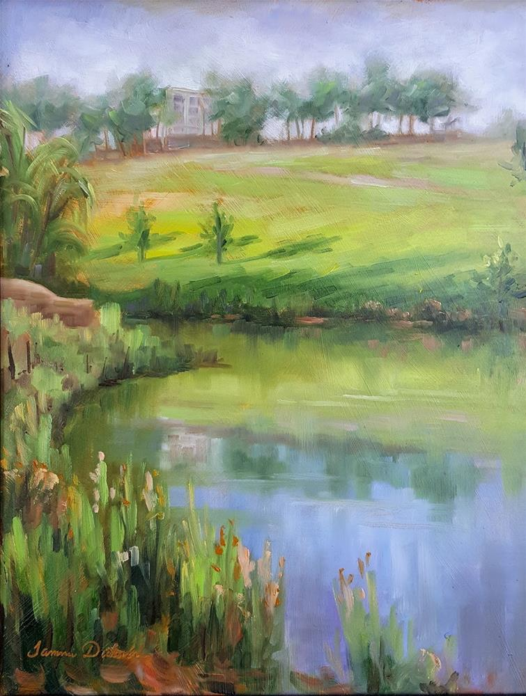 """Quiet Reflection"" original fine art by Tammie Dickerson"