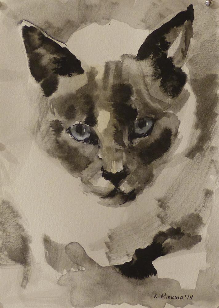 """adopt54"" original fine art by Katya Minkina"