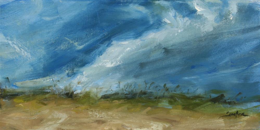 """Florida's Sand Dunes"" original fine art by Scott Serafica"