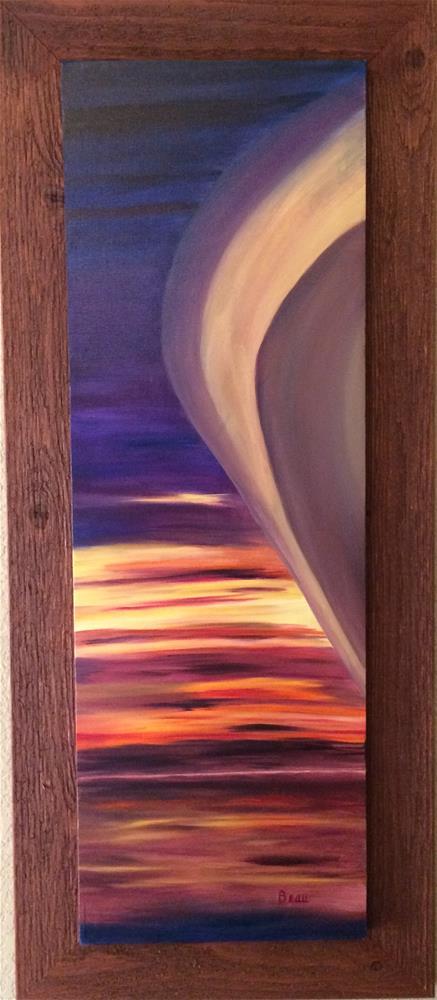 """Red Morning"" original fine art by Beau Crump"