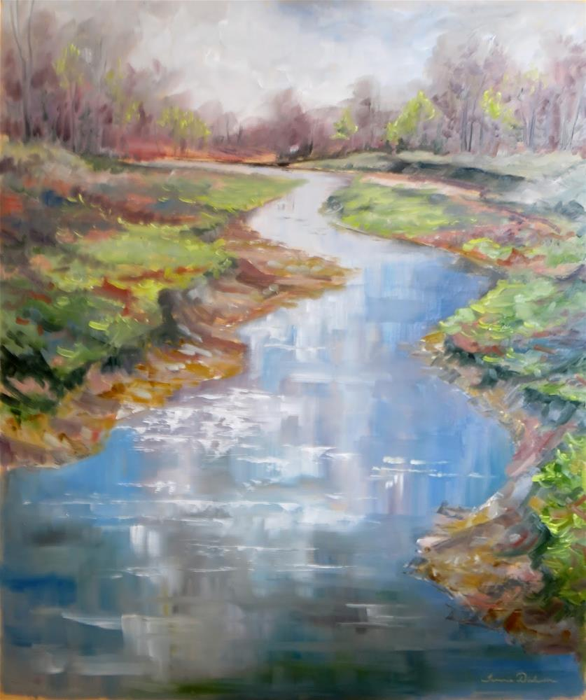 """Whisper of Spring"" original fine art by Tammie Dickerson"
