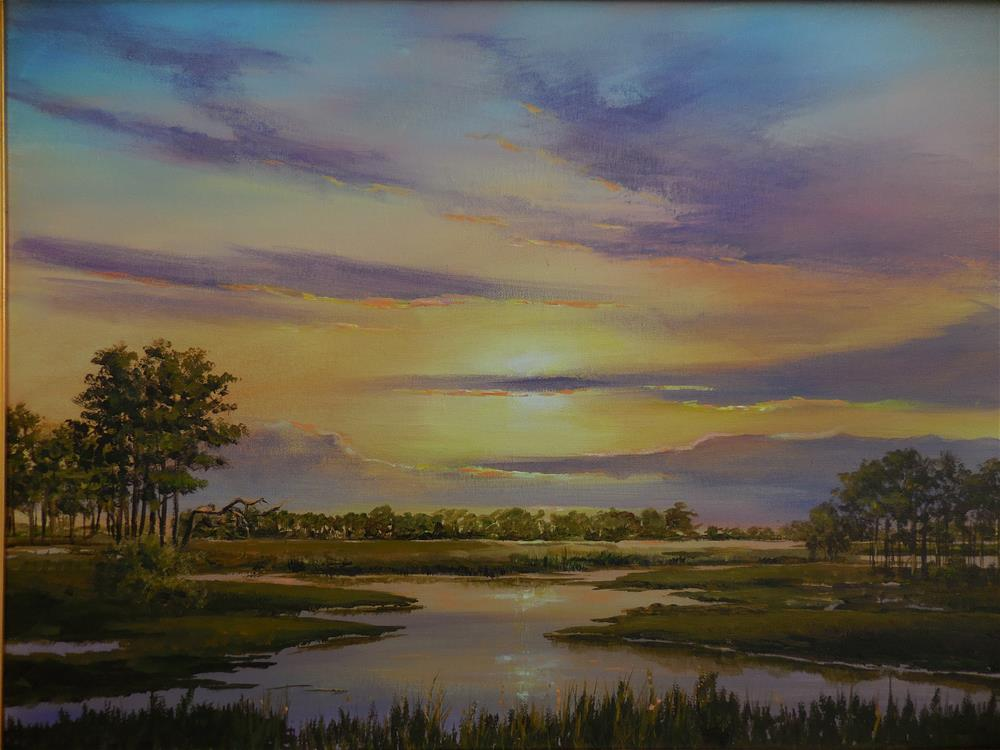 """Eastern Shore"" original fine art by Terri Nicholson"