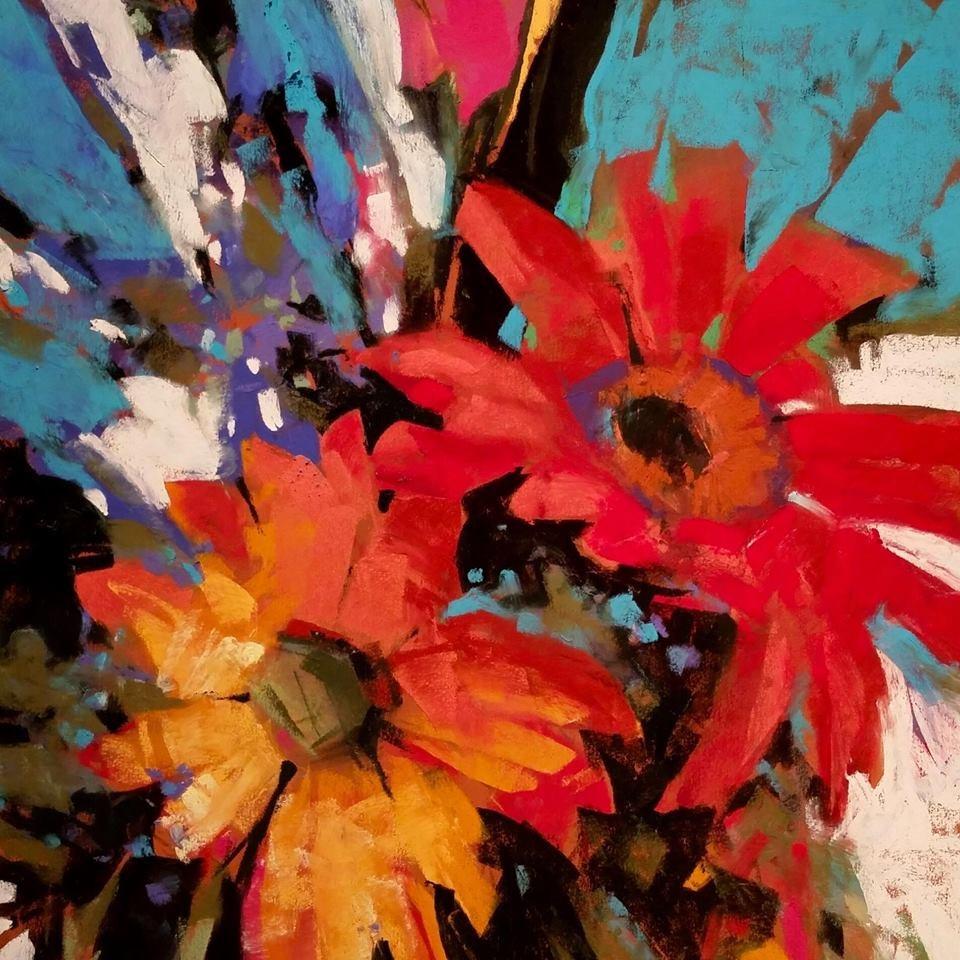 """Riotous Redolence"" original fine art by Jennifer Evenhus"