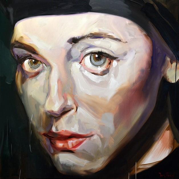 """tanja"" original fine art by Jurij Frey"