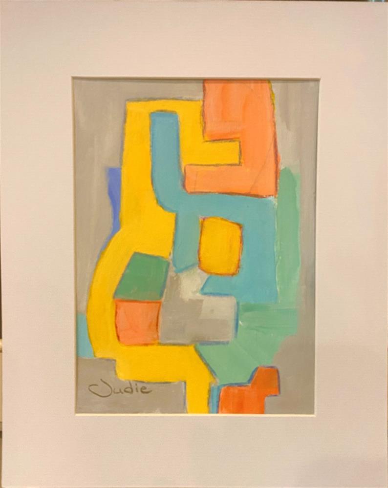 """""""PIECE OF MIND"""" original fine art by Judie Mulkey"""