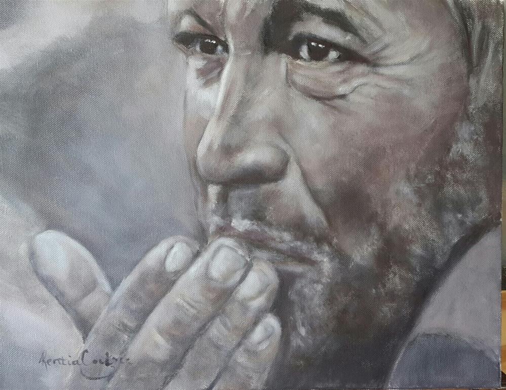 """Saying goodbye"" original fine art by Rentia Coetzee"