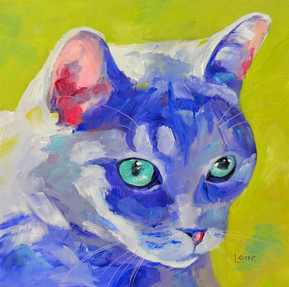 """CHARLIE 80/101 OF 101 PET PORTRAITS IN 101 DAYS © SAUNDRA LANE GALLOWAY"" original fine art by Saundra Lane Galloway"