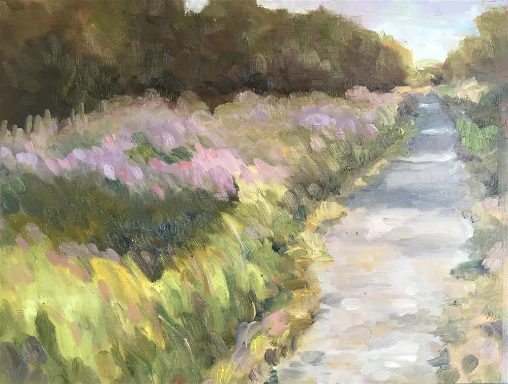 """Cochran Shoals Trail, Chattahoochee"" original fine art by Allison Doke"