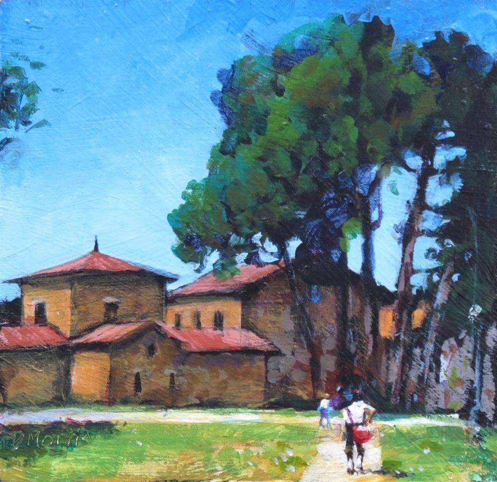 """June in Ravenna"" original fine art by Dann Morris"