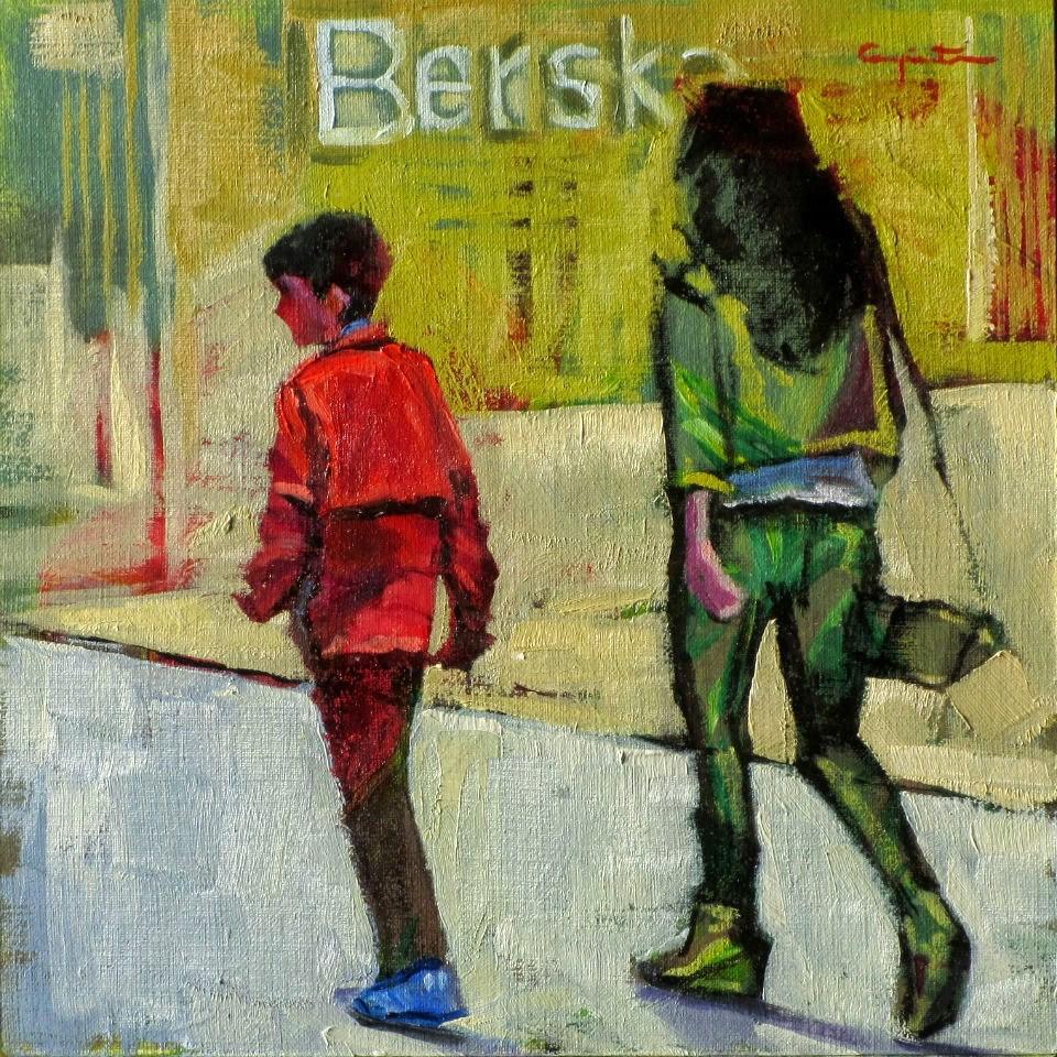 """Berska"" original fine art by Eduardo Carpintero"
