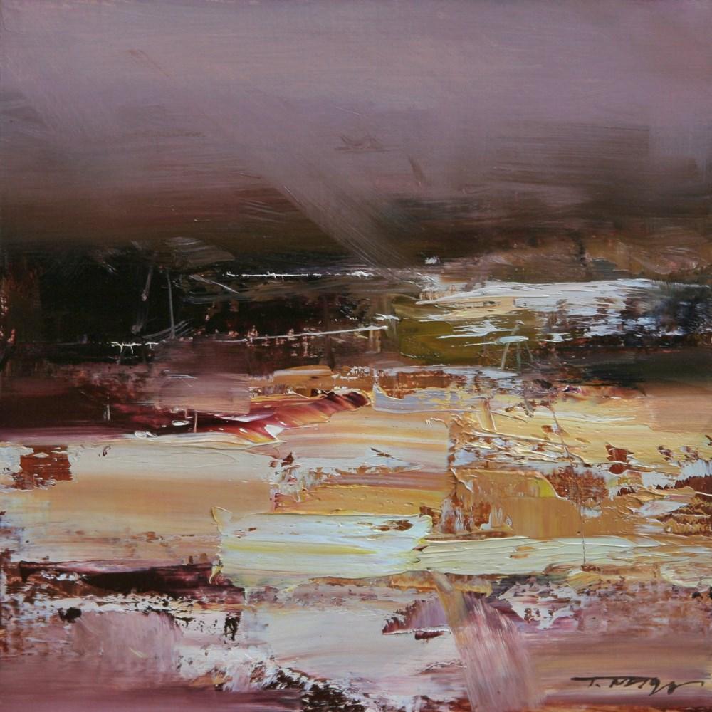 """The Mood of Autumn"" original fine art by Tibor Nagy"