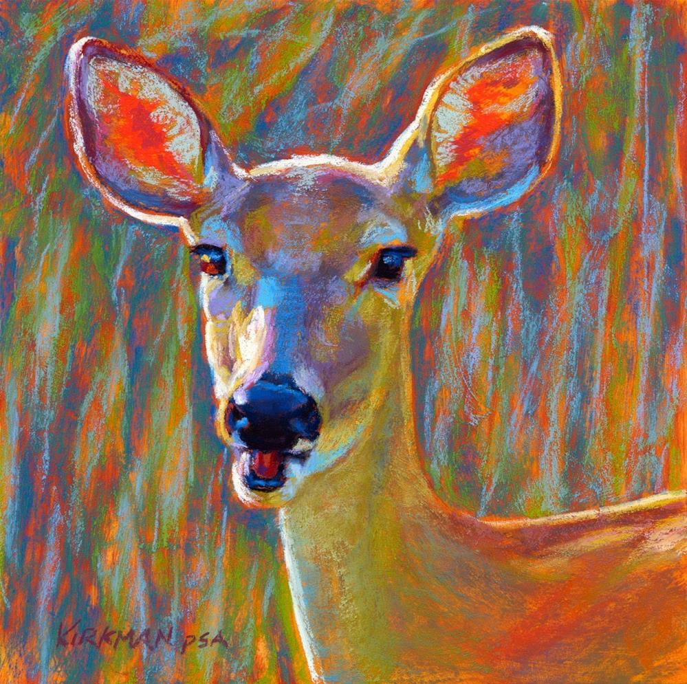 """Rainbow"" original fine art by Rita Kirkman"