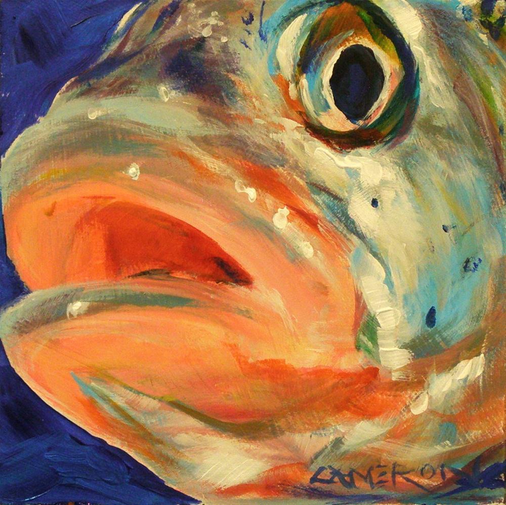 """""""FISH EYE"""" original fine art by Brian Cameron"""