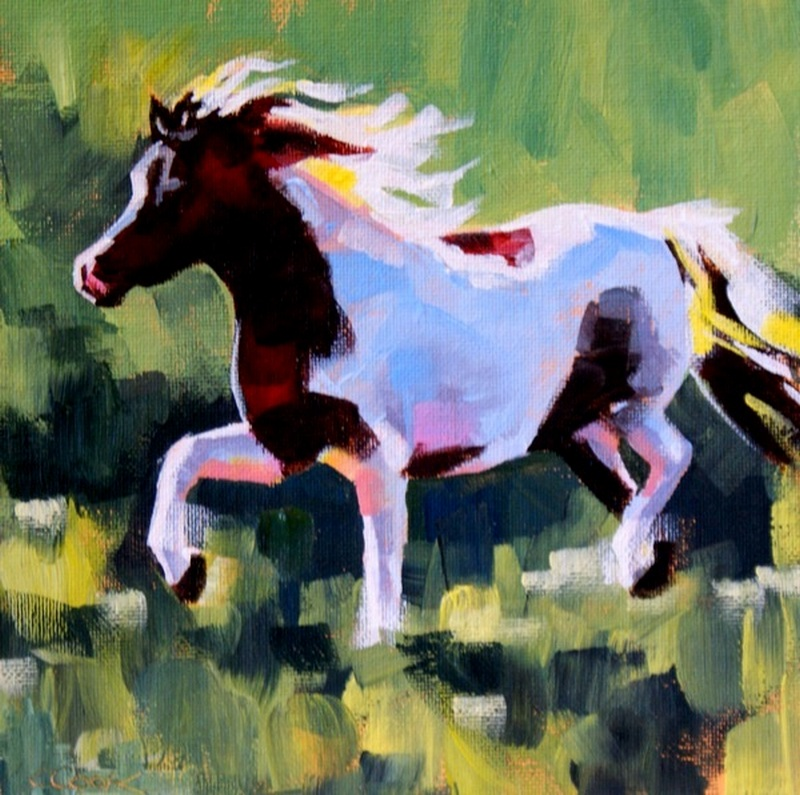 """Diminutive"" original fine art by Crystal Cook"