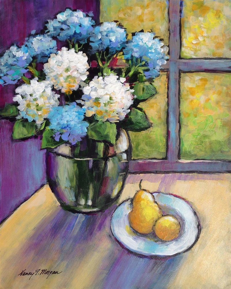 """""""On a Clear Day"""" original fine art by Nancy F. Morgan"""