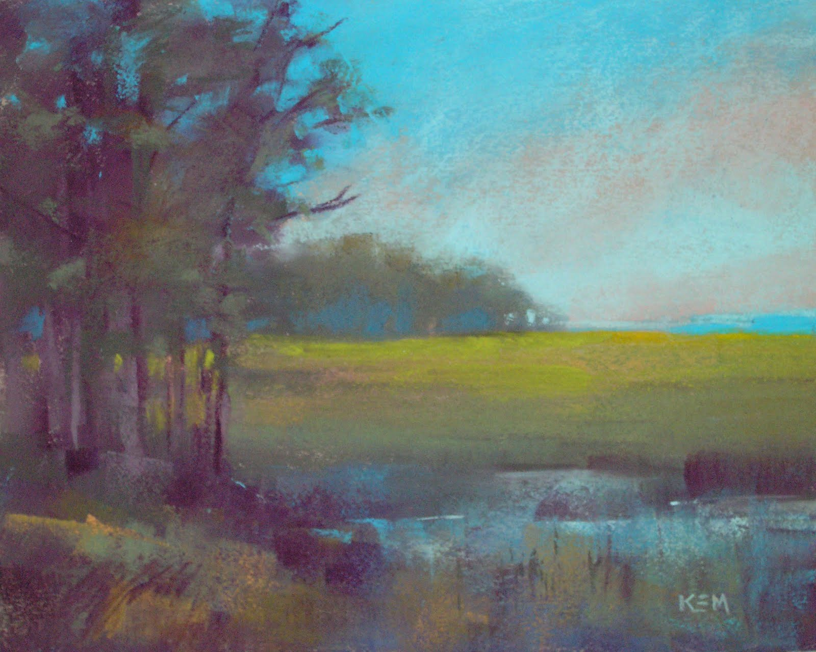 """More with my Mystery Pastels"" original fine art by Karen Margulis"